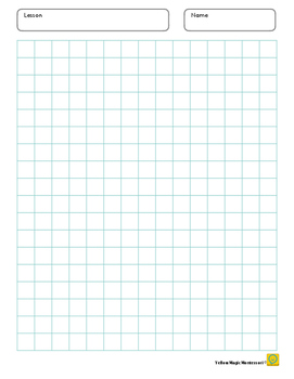 Graph Paper 0.5 x 0.5 inch Blue