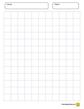 Graph Paper 0.7 x 0.7 inch Purple
