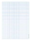 Graph Paper .2 Inch Blue Dot And Heavy Index Lines