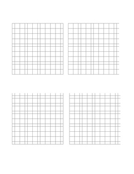 Graph Paper 20 x 20 4 Section
