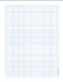Graph Paper .25 inch Blue Dot