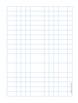 Graph Paper .5 inch Blue Dot