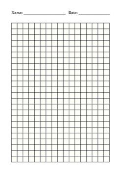 Graph Paper A4 square cm