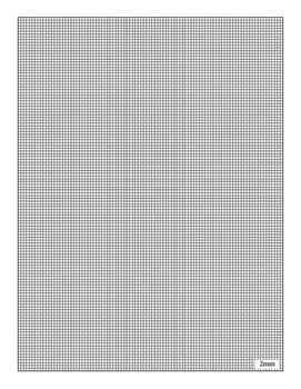 Graph Paper - Centimeters ★ FREEBIE ★