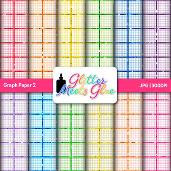 Graph Paper {Scrapbook Backgrounds for Algebra & Geometry