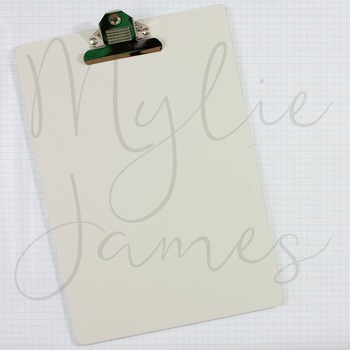 Graph Paper Clipboard Styled Images for Teacherpreneurs
