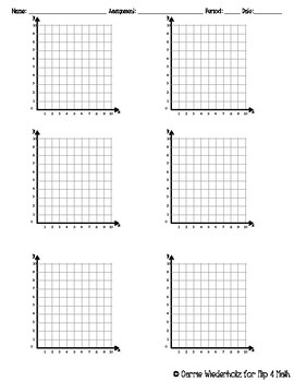 Graph Paper Four Quadrant