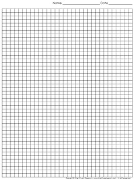 Graph Paper: Full Page Grid - half centimeter squares - 31x46 boxes