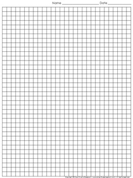 graph paper full page grid quarter inch squares 29x38 boxes king virtue