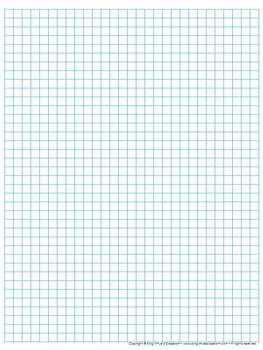 graph paper: full page grid - quarter inch squares - 29x38 boxes