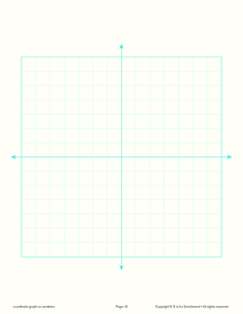 Math Packet – Graph Paper, Coordinate, Dotted, More