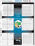 MiniGRAPH Algebra Kit: 6 Post-It Note Pads with Pre-Printe