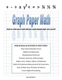 Graph Paper Math - Number Sense & Place Value teaching guide and unit
