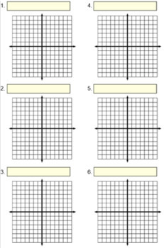 Graph Paper, Math Templates and References for PDF 112 pages