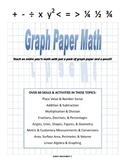 Graph Paper Math - addition and subtraction teaching guide and unit