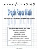 Graph Paper Math - complete k-6 math textbook and homeschool teaching resource