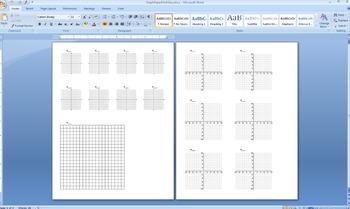 Graph Paper Multi Size