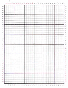 Graph Paper (Perimeter is numbered)
