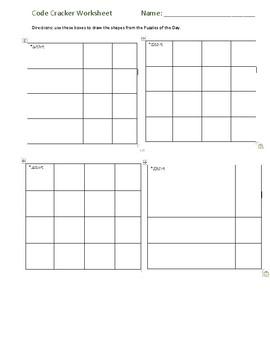 Graph Paper Programming Worksheets