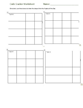 Graph Paper Programming Worksheets