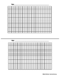 Graph Paper Template (2/page)