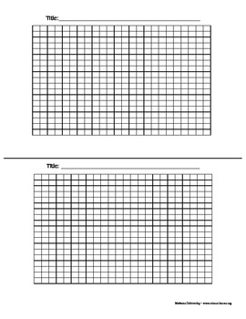 graph paper template 2 page by pop science teachers pay teachers