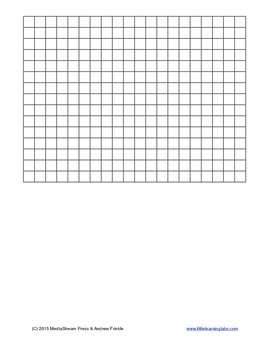 Graph Paper Templates - 8 different sizes and styles of graph paper