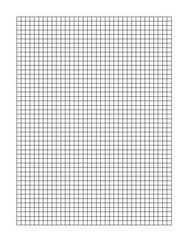 graph paper for i love math by in the middle of math and science