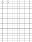Graph Paper for Math