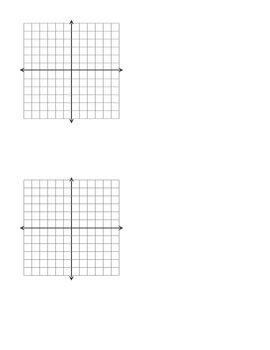 Graph Paper/Coordinate Plane 2