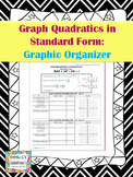 Graph Quadratic Functions in Standard Form - Graphic Organizer
