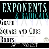 Graph Square and Cube Root Project for Radicals for Algebra 2