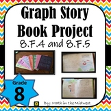 Graph Story Book Project 8.F.4 and 8.F.5: Writing in the Middle School Math Room