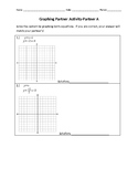 Graph Systems of Linear Equations Partner Activity