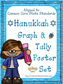 Graph & Tally Poster Set: Hanukkah Pictures