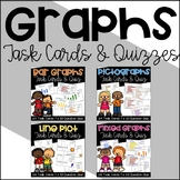 Graph Task Card Bundle {Bar Graphs, Pictographs, Line Plots}
