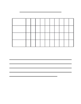 Line graph template teaching resources teachers pay teachers graph template graph template maxwellsz