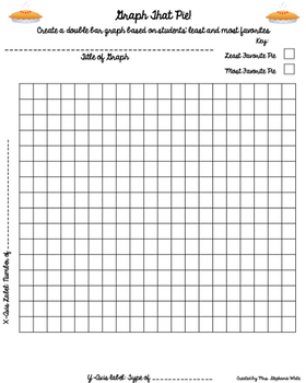 Graph That Pie! A Thanksgiving Math Activity