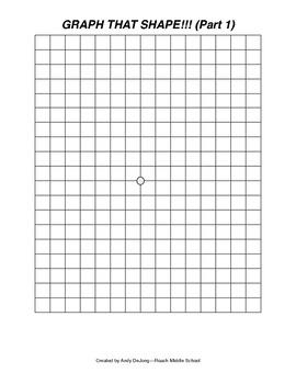 Graph That Shape! (Part 1)