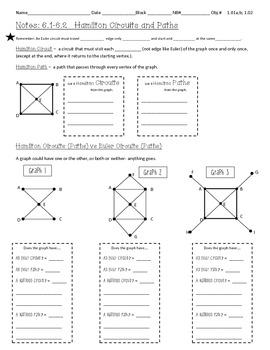 Discrete Math - Graph Theory Notes - Hamilton Circuits & The Complete Graph