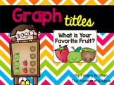 Graph Titles FREEBIE
