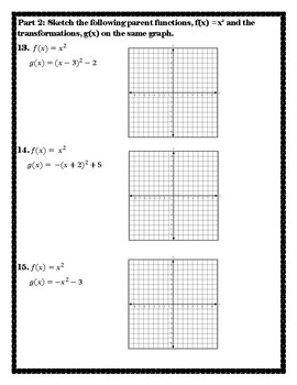 Graph Transformations from the Parent Function