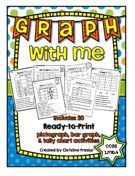Graph With Me - {20 Create & Read Graphing Activities for K-2}