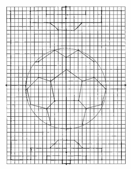 Graph A Picture Soccer Ball By Divid3 And Conquer Tpt
