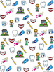 Graph and Tally Poster Set: Dentist Pictures