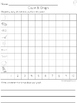 Graph and Tally Poster Set: Desert Pictures