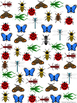 Graph and Tally Poster Set: Insect Pictures