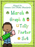 March Graph and Tally Poster Set: March Pictures