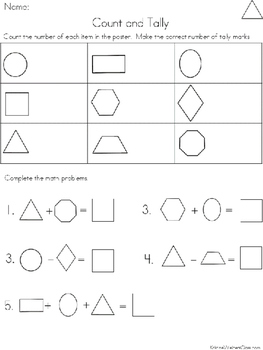 Graph and Tally Sets: Shape Pictures