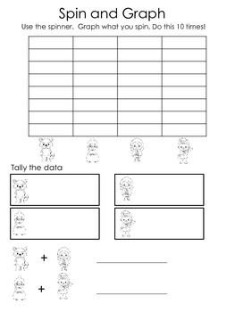 Graphing and Tally Practice Activities